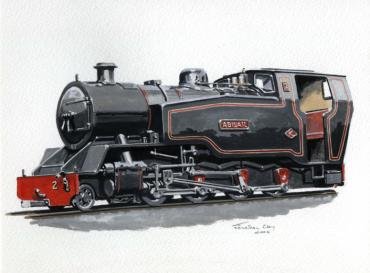 "Proposed 15"" gauge 2-8-0T"