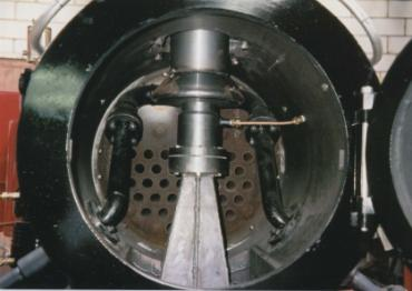 Lempor exhaust system fitted to BVR No. 9
